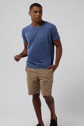 Camiseta Zapalla Stonada C/ Bolso - Indigo