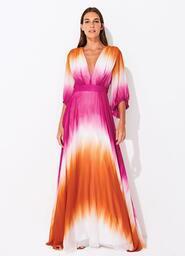 Vestido Bianca Paint Pink
