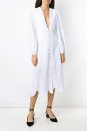 Vestido Olympiah Decote Nielle Off White