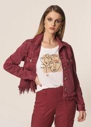 T-Shirt Malha MOB Fresh Linho Rosto Abstrato