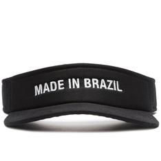 Viseira Fiever Preta Made In Brazil