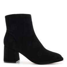 New Schutz Boot Evasê Suede Black