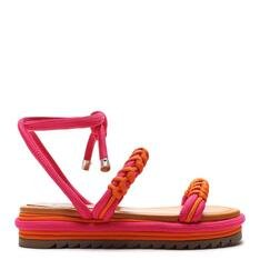 Sporty Schutz Sandals Fun Tangerine