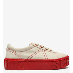 Tênis Schutz Flatform Mauli Neutral & Red