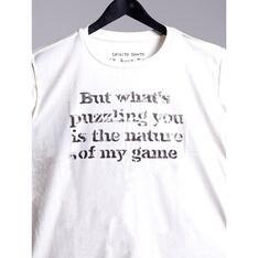 Camiseta Puzzling You Branco Spirito Santo