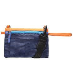Clutch Fiever Azul e Laranja Net