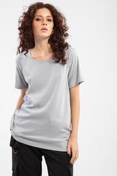Camiseta Baw ta Essential Wide Grey