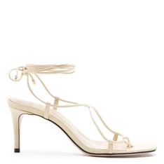 Sandália Schutz Strings Lace-Up White