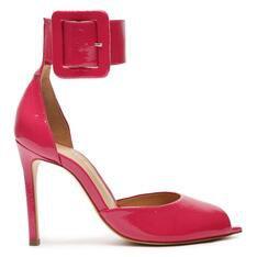 Sapato Schutz Scarpin Salto Alto Verniz Vermelho