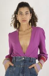 Cardigan Le Molleton Raquel Rosa