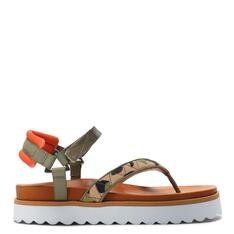Sporty Schutz Sandal Camuflada Green