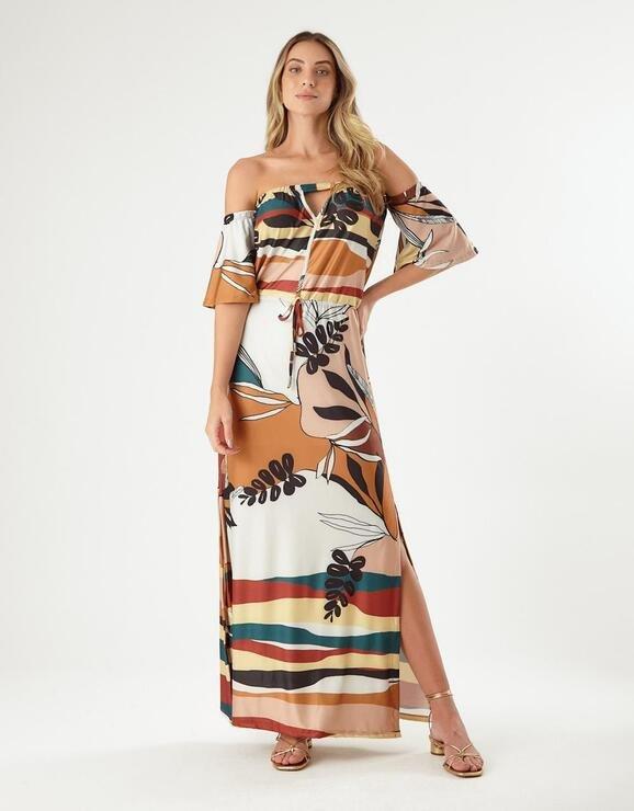 Vestido Zinzane Alessa Longo