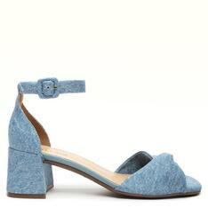 Sandália Alme Azul Hortênsia/Jeans Stella