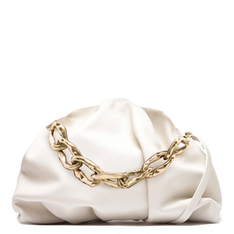 Maxi Schutz Clutch Avril Chain Off White