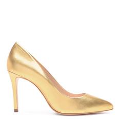 Scarpin Schutz Classic Gold