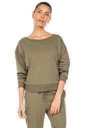 Sweatshirt Easiness - Verde Musgo - LIVE!