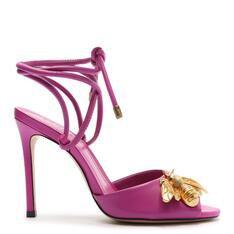 Sandália Schutz de Salto Bee Pink