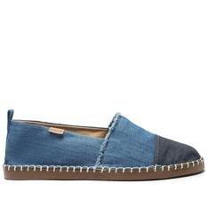 Alpargata Anacapri Azul Lona Cap Toe Jeans