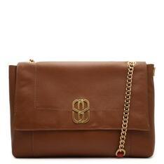 Shoulder Schutz Bag Double Face Brown/Red