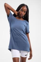 Camiseta Baw ta Essential Wide Navy