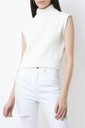 Cropped Olympiah Arabe Off White