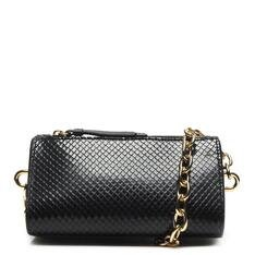 Mini Schutz Crossbody Alanis Snake Black