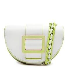 Pochete Schutz New Buckle Neon/White