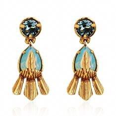 Brinco Origens Claudia Arbex Ouro Vintage