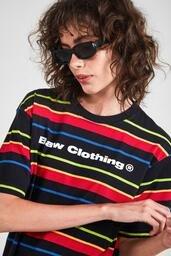 Camiseta Baw ta Striped Retro