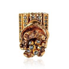 Anel Aura Claudia Arbex Ouro Vintage