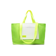 Shopping Fiever Verde e Branco Nylon
