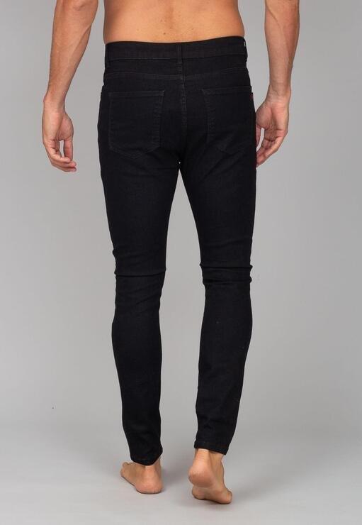 Calça Jeans Black Amaciada Red Feather