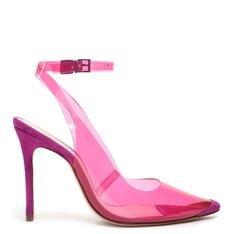 Scarpin Schutz Vinil Slingback Pink