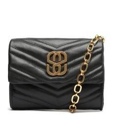 Bolsa Schutz Tiracolo Pequena Your Choice Glam Preta