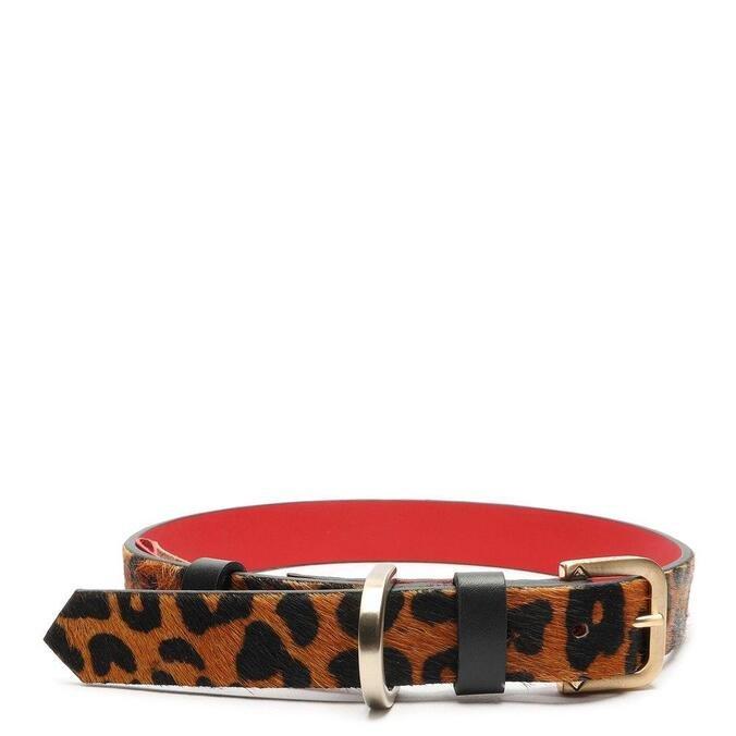 Coleira Schutz G Pets Collection Leopard Print
