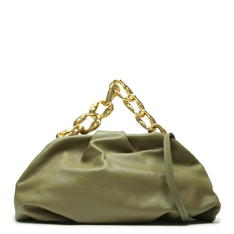 Maxi Schutz Clutch Avril Chain Green