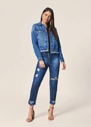 Calça MOB Skinny Jeans Puídos