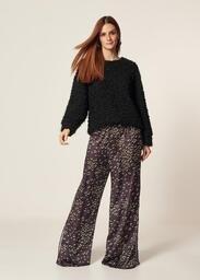 Calça MOB Pantalona Animal Print