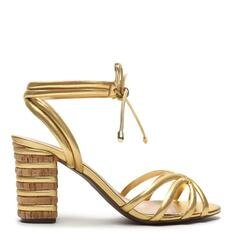 Sandália Schutz Fresh Cortiça Gold