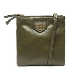 Bolsa Schutz Tiracolo Pequena Your Choice Vintage Verde-Militar