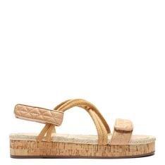 Sporty Schutz Sandal Cortiça Honey