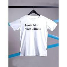Camiseta Love Me Two Times Branco Spirito Santo