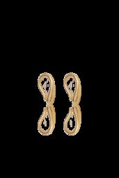 Brinco Drop - Prata 925 com banho de ouro