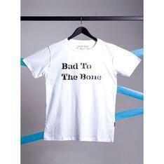 Camiseta Bad To The Bone Branco Spirito Santo