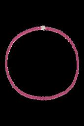 Colar Pop Pink - Prata 925