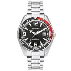 Relógio Akium Masculino Aço - G7082 SS VD53 BLACK by Vivara