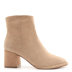 New Schutz Boot Evasê Suede Honey