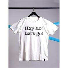 Camiseta Hey Ho, LetS Go Branco Spirito Santo