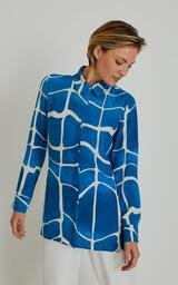 Camisa Lenny Niemeyer Seda Classic Premium Movimento