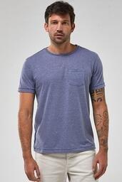 Camiseta Zapalla Ponto Saco Com Bolso - Azul Jeans